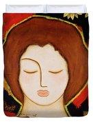 Peace Messenger Duvet Cover by Gloria Rothrock