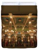 Pennsylvania Senate Chamber Duvet Cover by Shelley Neff