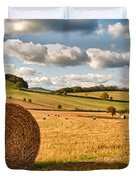 Perfect Harvest Landscape Duvet Cover by Amanda And Christopher Elwell