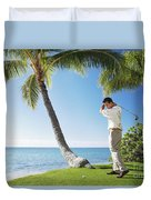 Perfect Swing Duvet Cover by Brandon Tabiolo - Printscapes