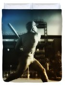 Philadelphia Phillie Mike Schmidt Duvet Cover by Bill Cannon
