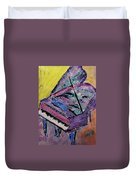 Piano Pink Duvet Cover by Anita Burgermeister
