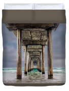 Pier Duvet Cover by Doug Oglesby