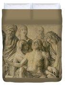 Pieta Duvet Cover by Giovanni Bellini