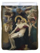 Pieta Duvet Cover by William Adolphe Bouguereau