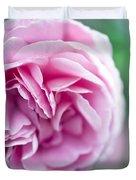 Pink Bourbon Rose LOUISE ODIER Duvet Cover by Frank Tschakert