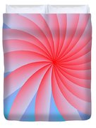 Pink Passion Flower Duvet Cover by Michael Skinner