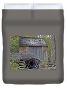 Pioneer Water Mill Duvet Cover by DigiArt Diaries by Vicky B Fuller