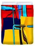 Pipe Dream Duvet Cover by Richard Rizzo