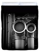 Pipes Duvet Cover by Dave Bowman