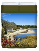 Pleasant Bay Duvet Cover by John Greim