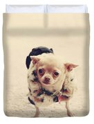 Please Meet Zoe Duvet Cover by Laurie Search