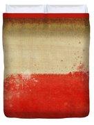 Poland Flag  Duvet Cover by Setsiri Silapasuwanchai