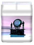 Portal Duvet Cover by Corey Ford