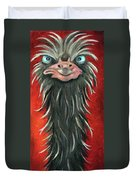 Poser 3 Duvet Cover by Leah Saulnier The Painting Maniac