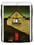 Postal Service Duvet Cover by Mal Bray