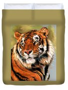 Power And Grace Duvet Cover by Barbara Keith