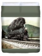 Power On The Curve Duvet Cover by David Mittner