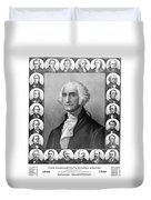 Presidents Of The United States 1789-1889 Duvet Cover by War Is Hell Store