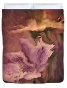 Pretty Bouquet - a04ct3 Duvet Cover by Variance Collections