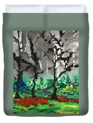 Primary Forest Duvet Cover by Nadine Rippelmeyer