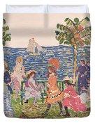 Promenade Duvet Cover by Maurice Brazil Prendergast