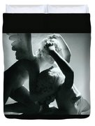 Psyche Revived By The Kiss Of Cupid Duvet Cover by Antonio Canova