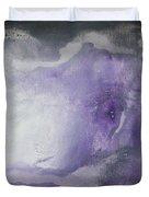 Purple Explosion By Madart Duvet Cover by Megan Duncanson