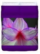 Purple Haze Duvet Cover by Donna Shahan