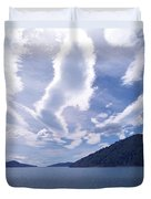 Queen Charlotte Sound Duvet Cover by Kevin Smith