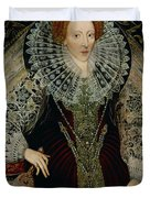 Queen Elizabeth I Duvet Cover by John the Younger Bettes