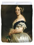 Queen Victoria Duvet Cover by Franz Xaver Winterhalter