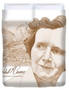 Rachel Carson Duvet Cover by John D Benson