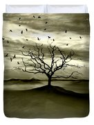 Raven Valley Duvet Cover by Photodream Art