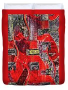 Red Devil Duvet Cover by Bill Cannon