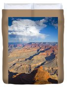 Red Storm Rising Duvet Cover by Mike  Dawson