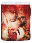 Redemption Duvet Cover by Mo T