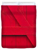 Redwood Duvet Cover by Tony Beck