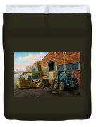 Reed Paper Foden Fg Duvet Cover by Mike  Jeffries