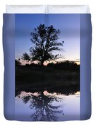 Reflecting Tree Duvet Cover by Bill Cannon