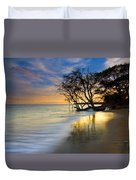 Reflections Of Paradise Duvet Cover by Mike  Dawson
