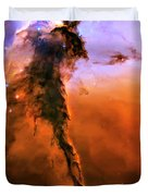 Release - Eagle Nebula 2 Duvet Cover by The  Vault - Jennifer Rondinelli Reilly