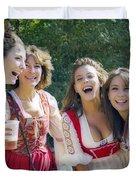 Renaissance Ladies Duvet Cover by Brian Wallace