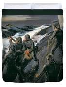 Rescue Duvet Cover by Thomas Harold Beament