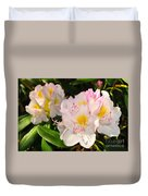 Rhododendron Duvet Cover by Catherine Reusch  Daley