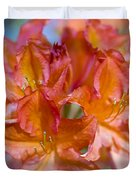 Rhododendron Flowers Duvet Cover by Frank Tschakert