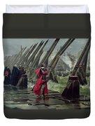 Richelieu Duvet Cover by Henri-Paul Motte