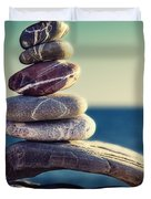 rock energy Duvet Cover by Stylianos Kleanthous