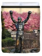 Rocky In Spring Duvet Cover by Bill Cannon