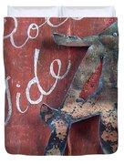 Roll Tide Duvet Cover by Racquel Morgan